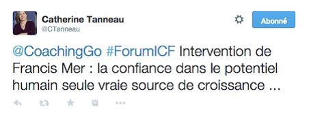 Francise mer forum ICF Catherine Tanneau