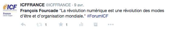Tweet forum du printemps table ronde 6
