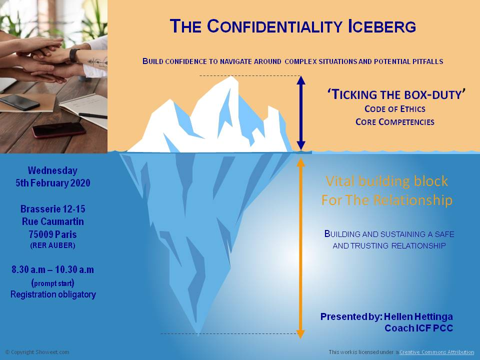 PP FV Flash Breakfast Meeting Iceberg Confidentiality 5 02 20