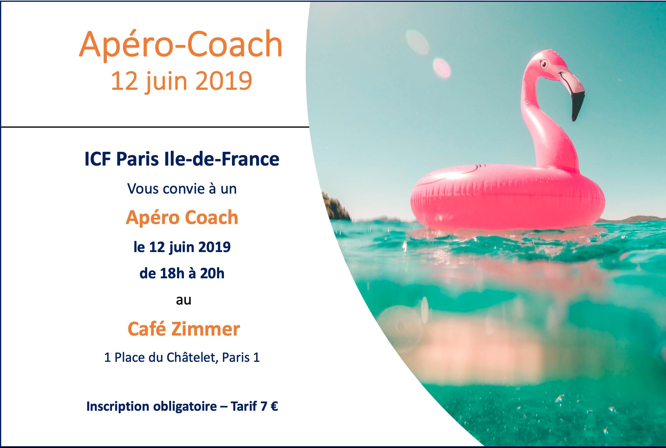 Apero coach 12 juin 2019 IDF