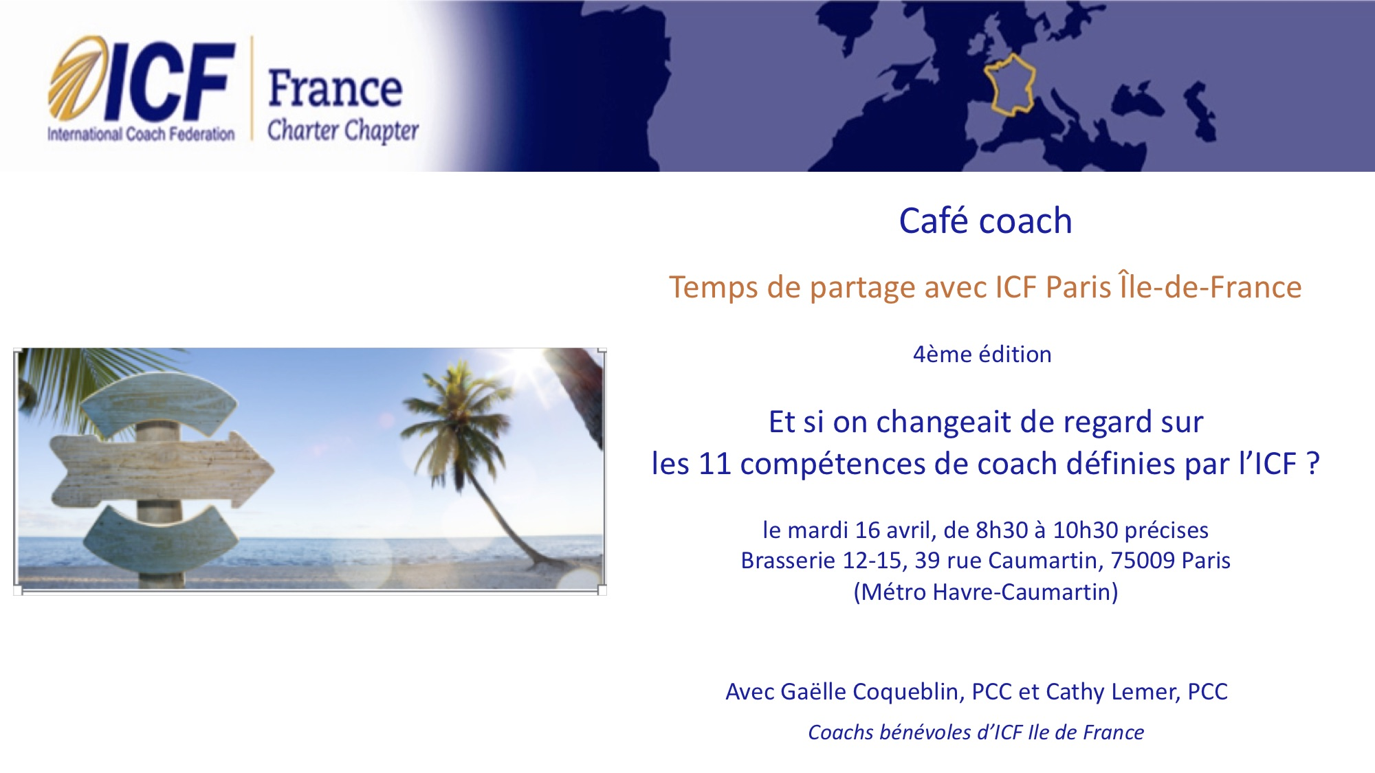 Cafe Coach 13 avril
