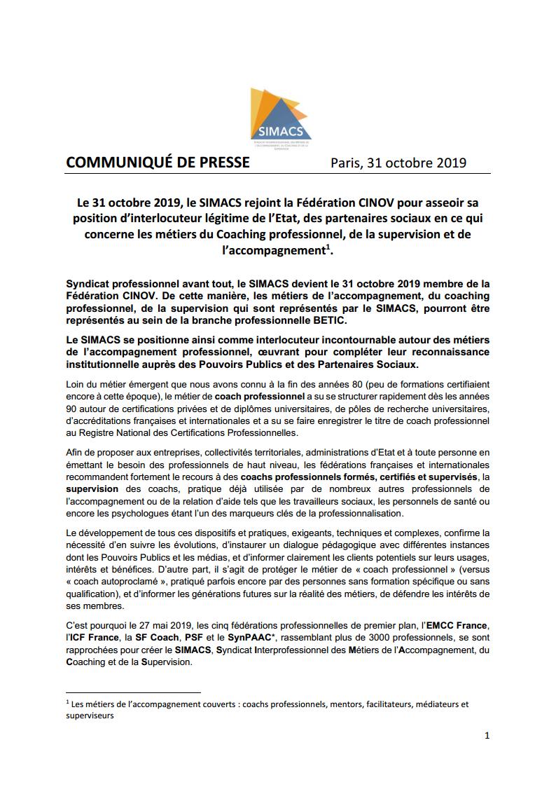 Communiqué de presse SIMACS CINOV officielpng Page1